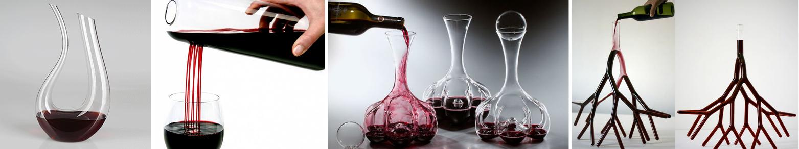 Decantadores de vino