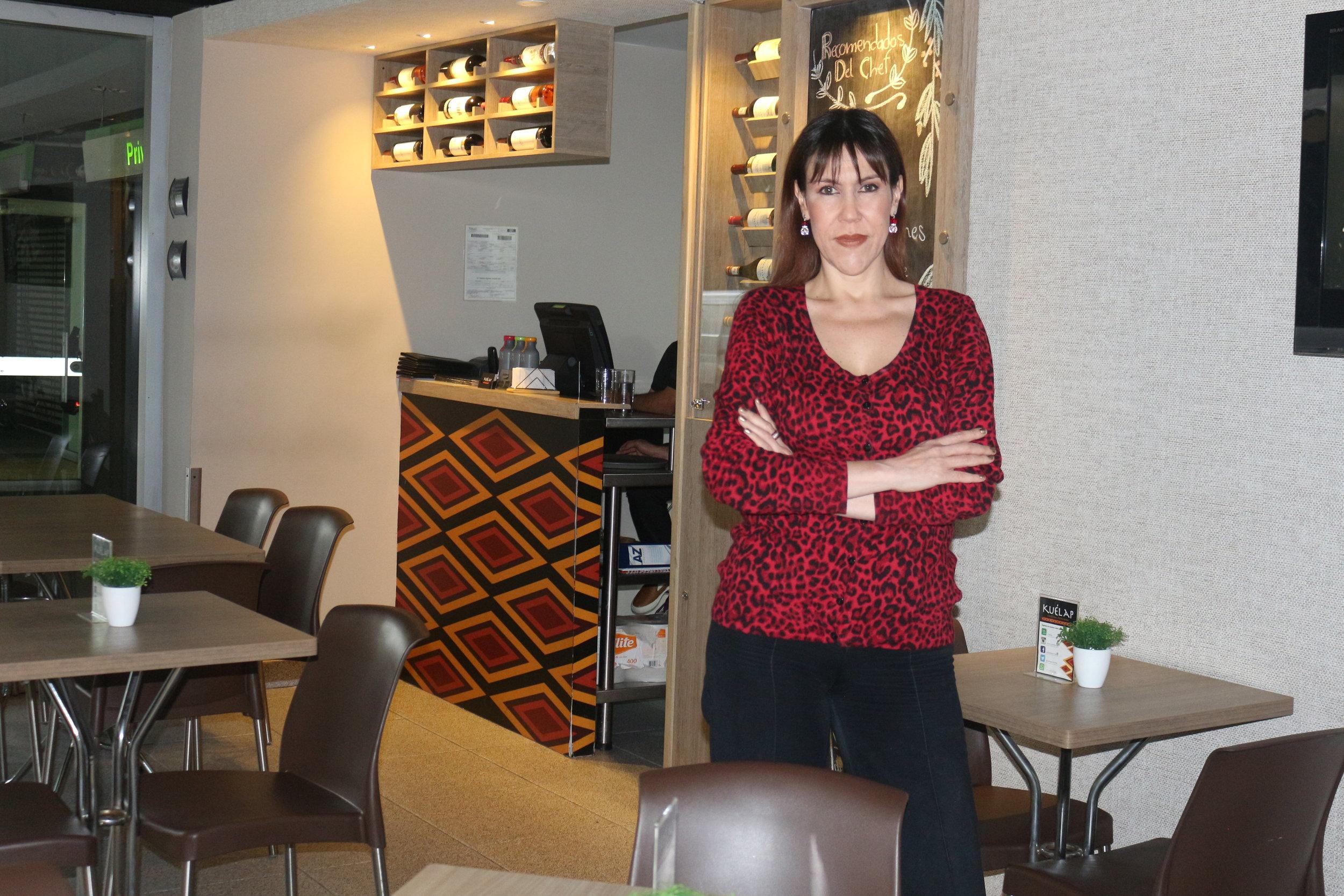 Sommelier Ana Cristina Cano