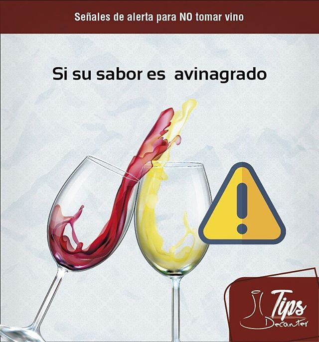 Motivos de alerta cuando tomes vino, aprende fácil y rápido con nuestros Tips Decanter!!! #tips #tipsdecanter #vino #clubdevinos #decantercolombia