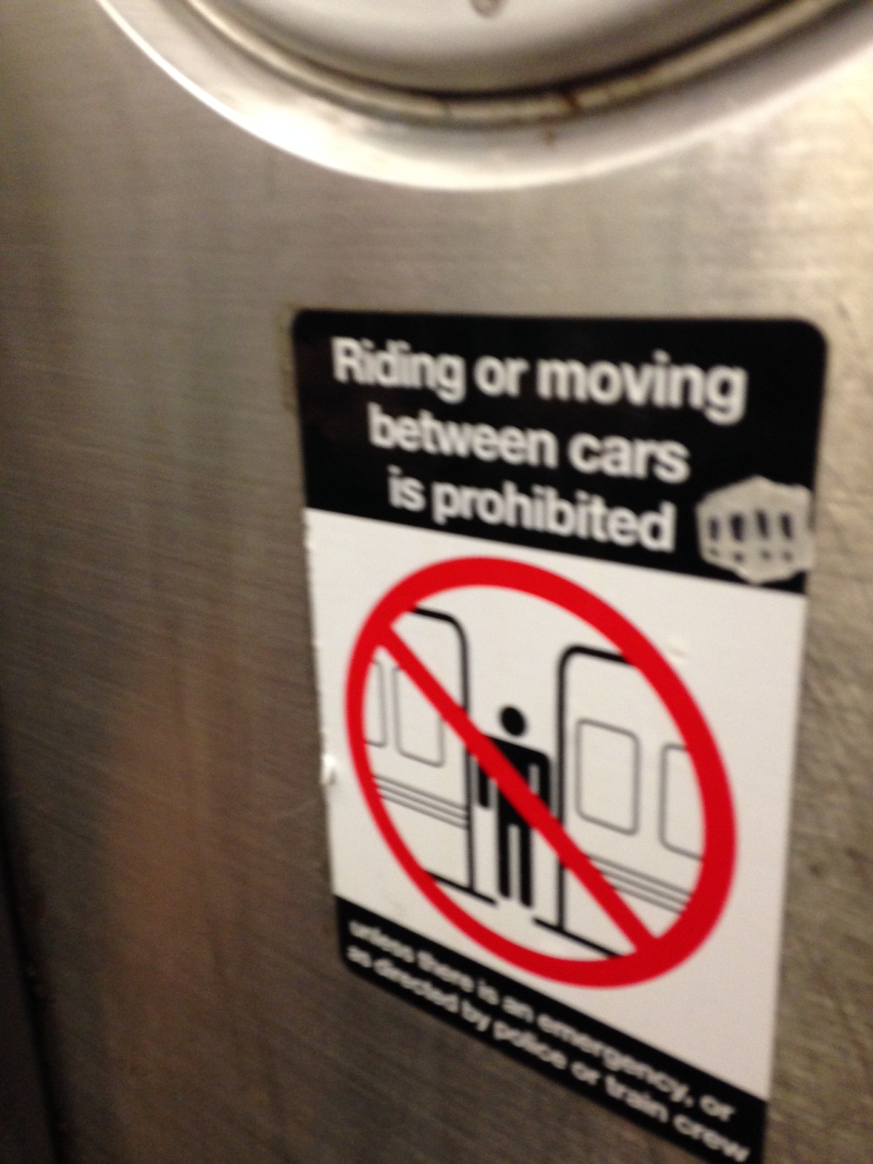 Prohibited!!!!