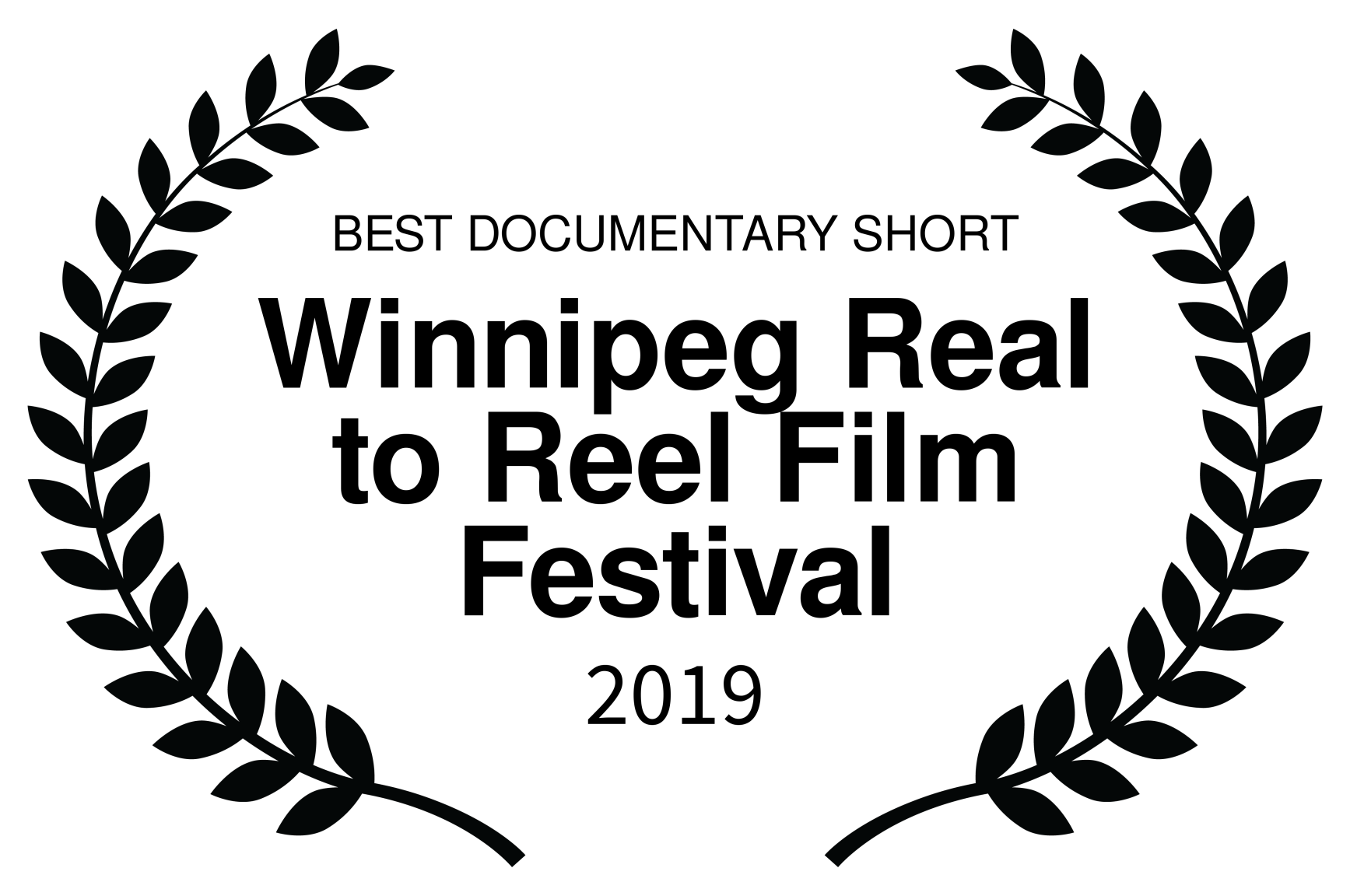 BEST DOCUMENTARY SHORT - Winnipeg Real to Reel 2019 BLK.png