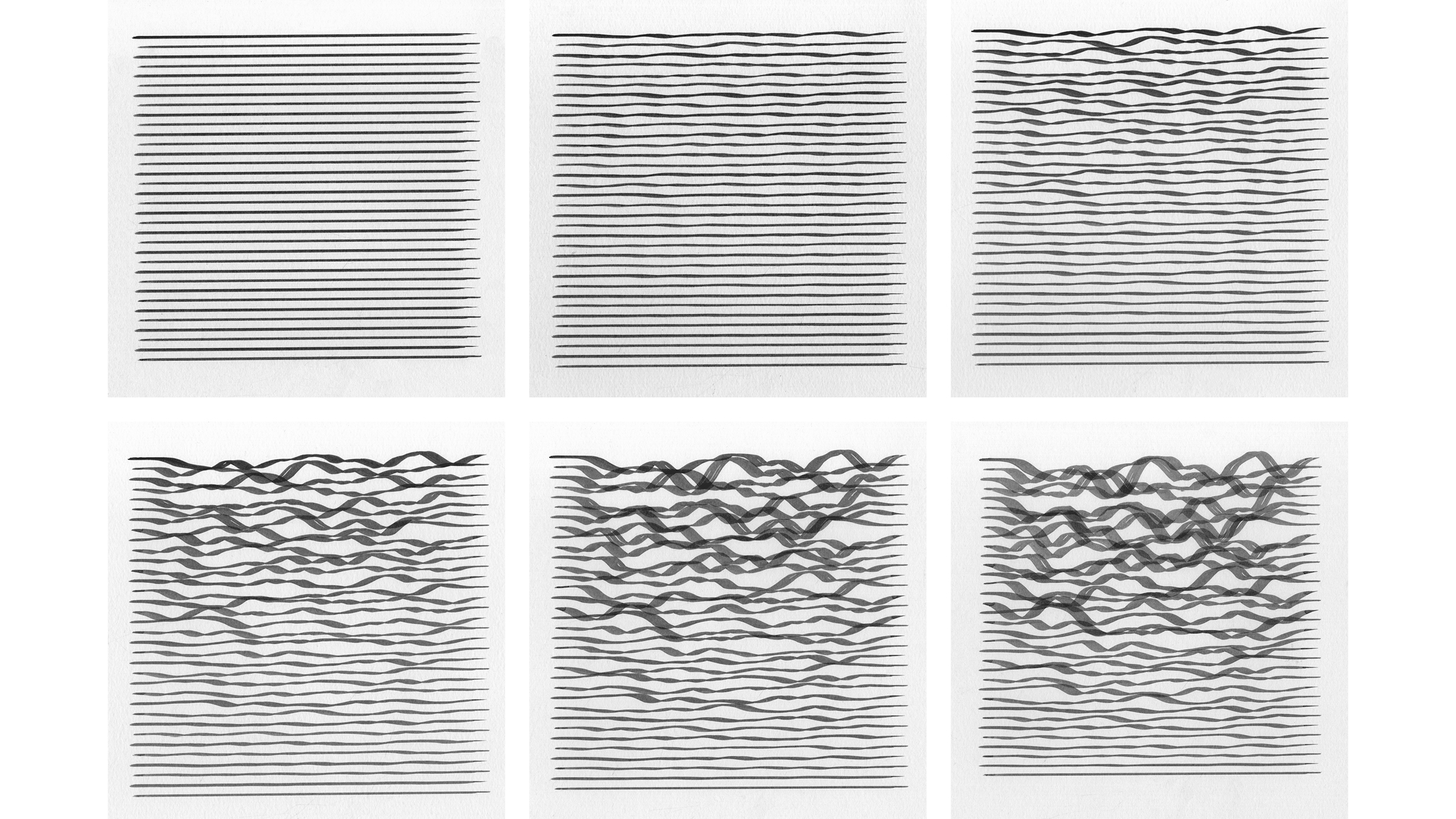 Waves , Seed 70, Increments 0 to 100