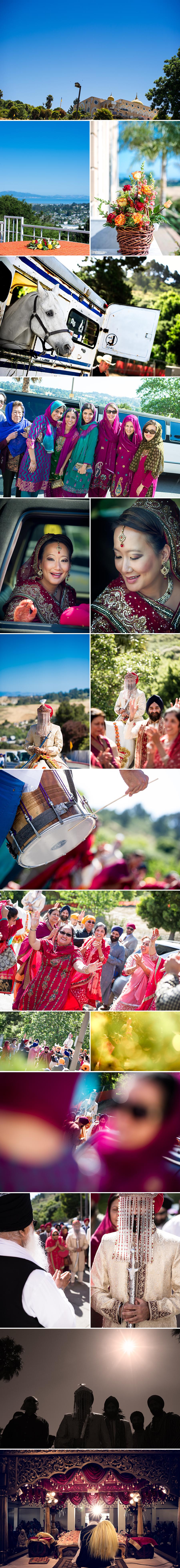 Indian Sikh wedding El Sobrante Gurudwara