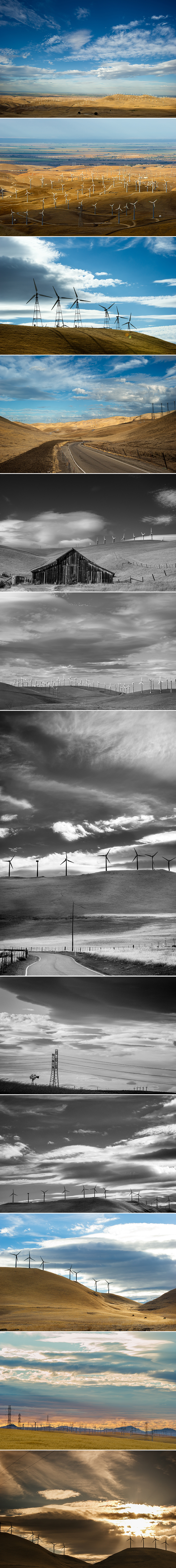 Altamont Pass Wind farm MP Singh Photography