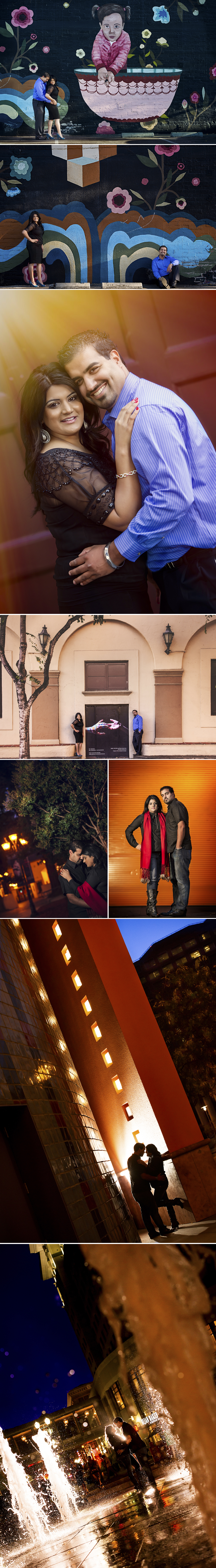 Indian Engagement Session San Jose Downtown