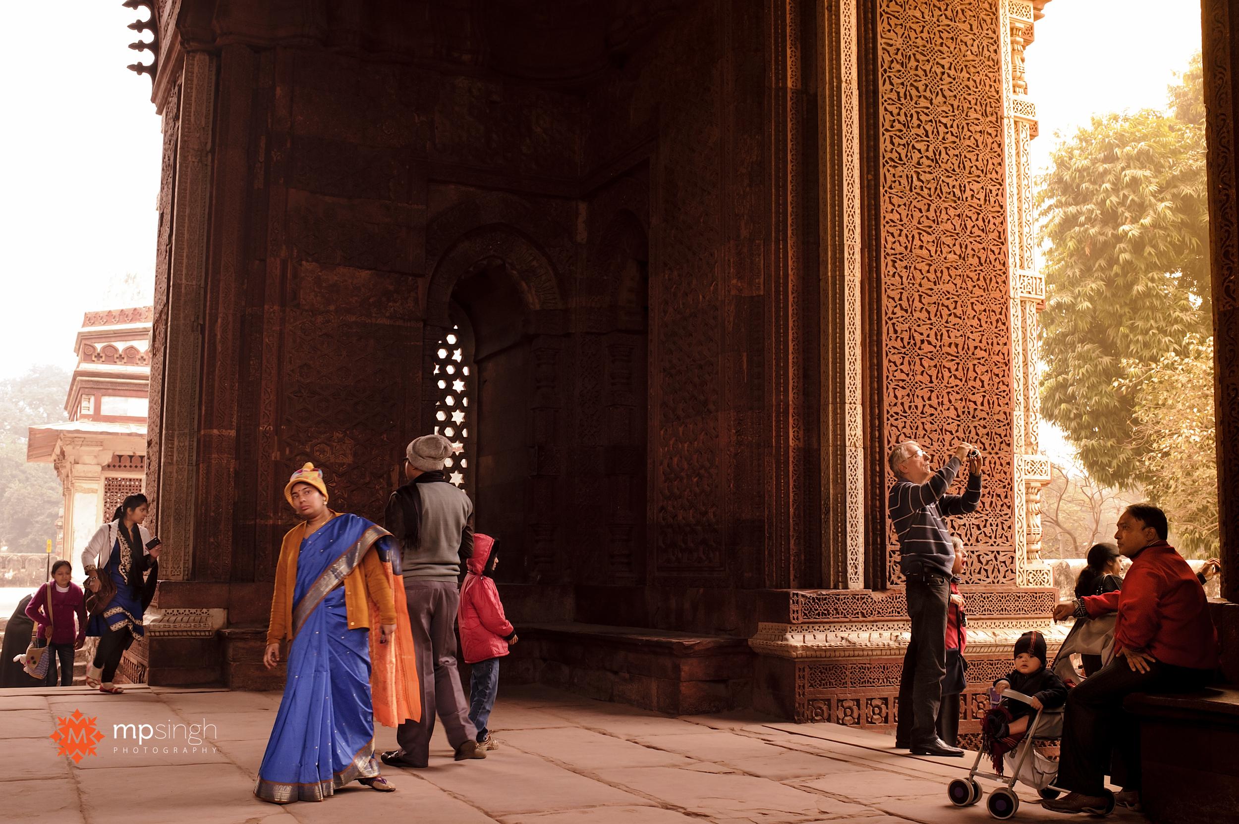 Qutub Minar MP Singh Photography