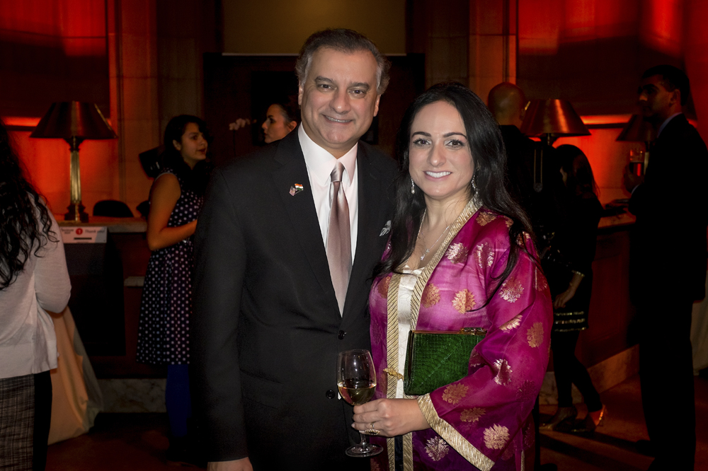 Simi and Kumar Barve, majority Leader of the House of Delegates in Maryland