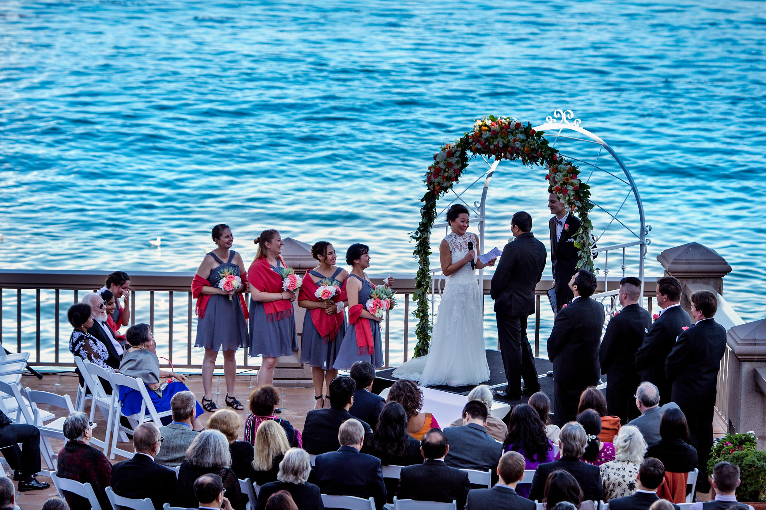 Indian fusion Wedding Monterey Plaza Hotel & Spa