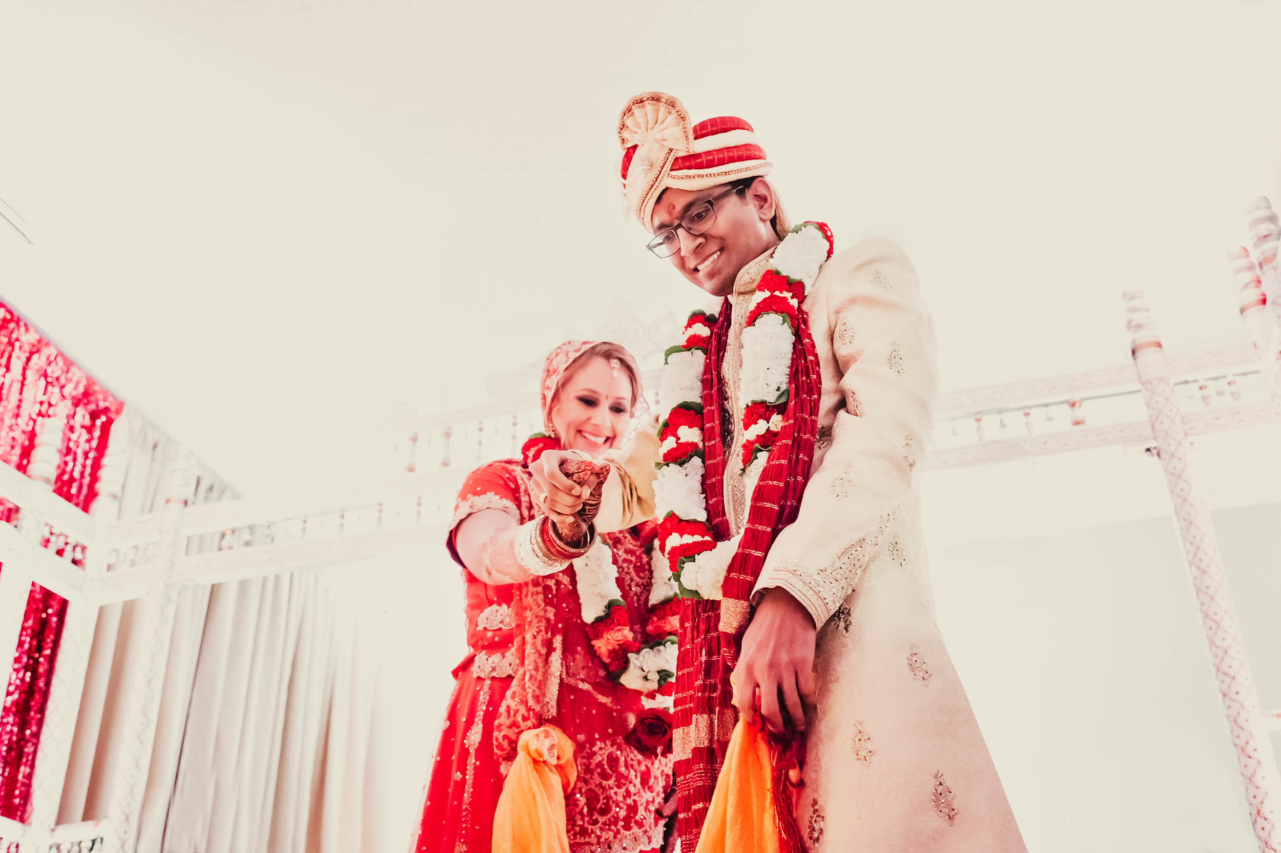 Indian Hindu wedding Shiva Vishnu temple Livermore