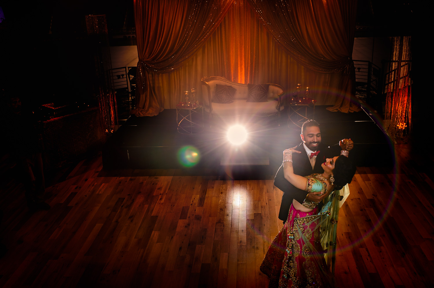 First dance Indian wedding Levi's Stadium
