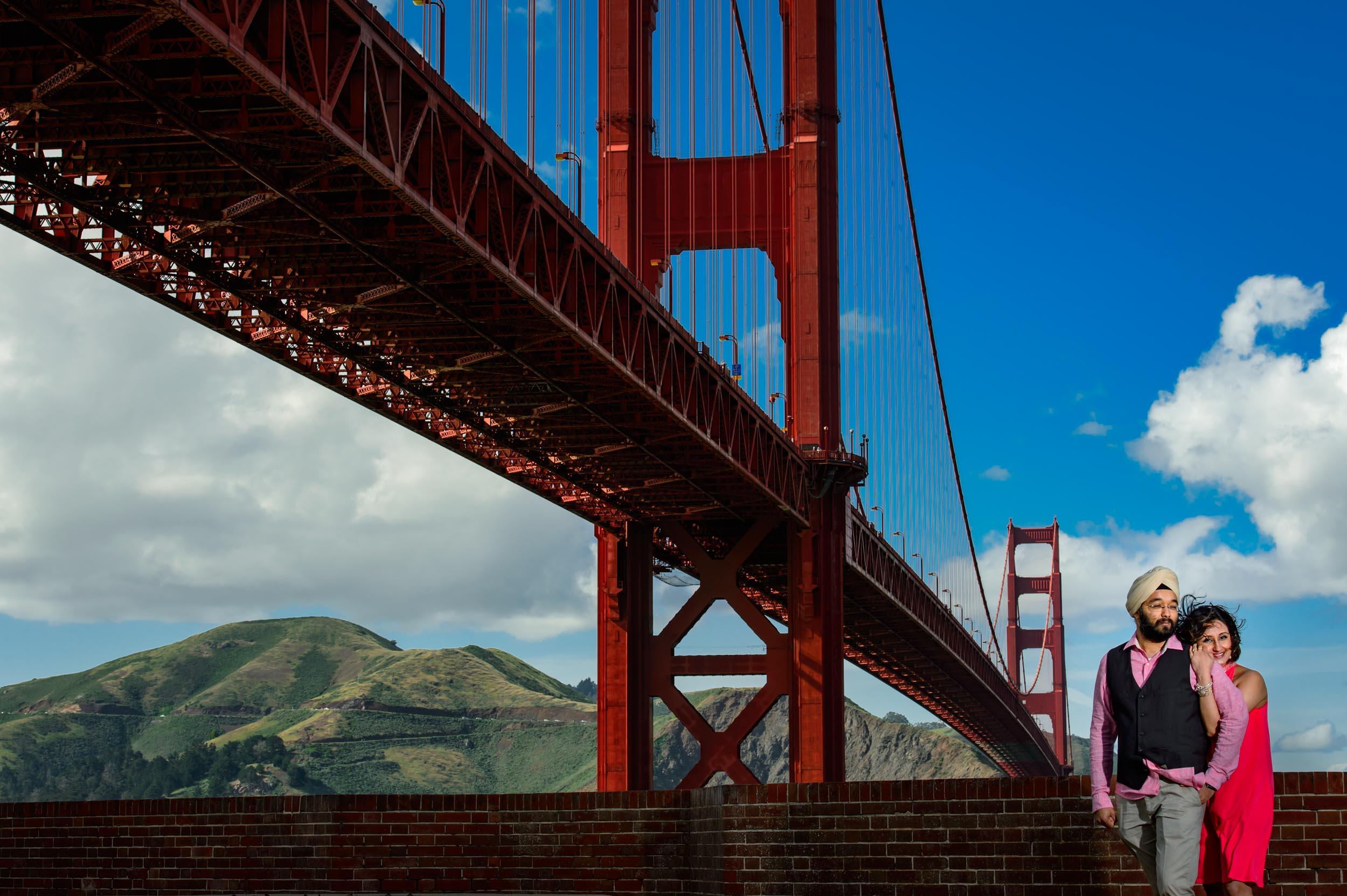 Golden gate San Francisco maternity shoot