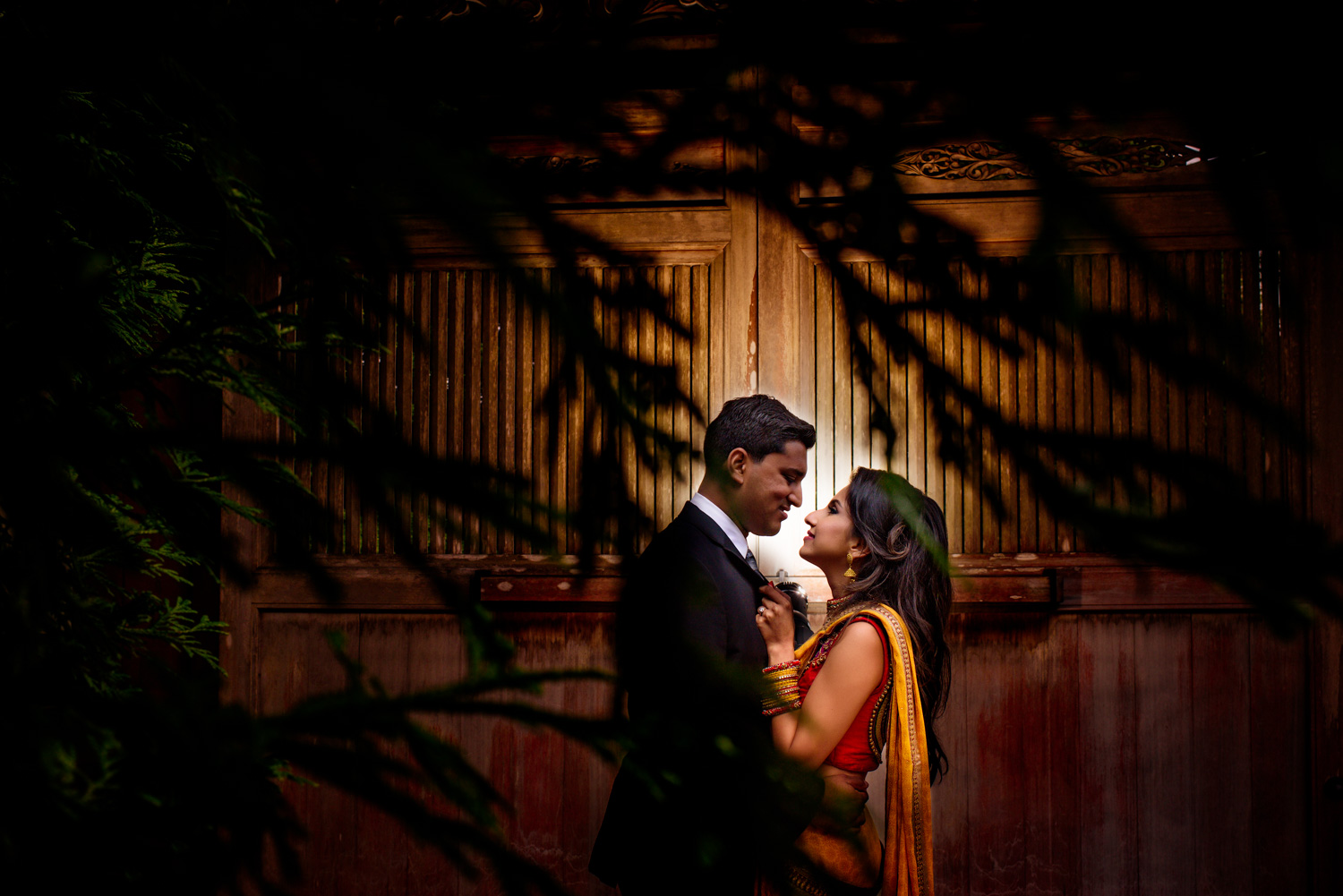 San Francisco Indian engagement session