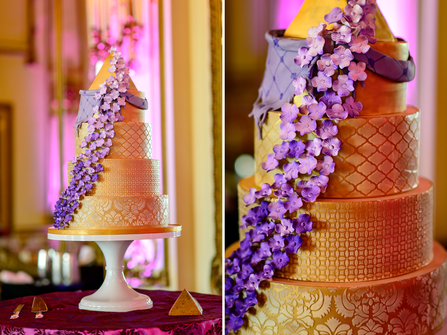 wedding cake by Inticing Creations
