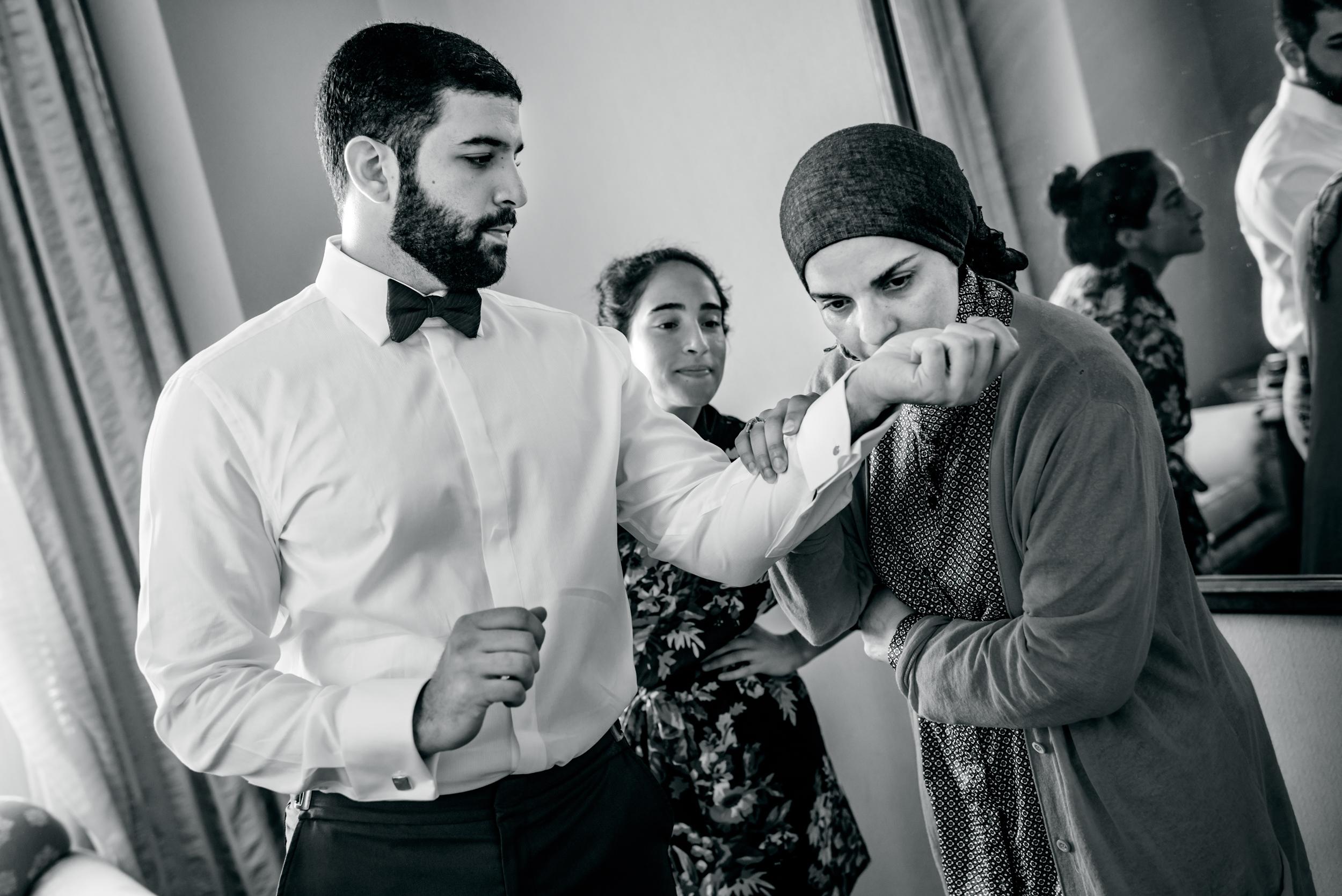 Arabic wedding Fairmont San Francisco
