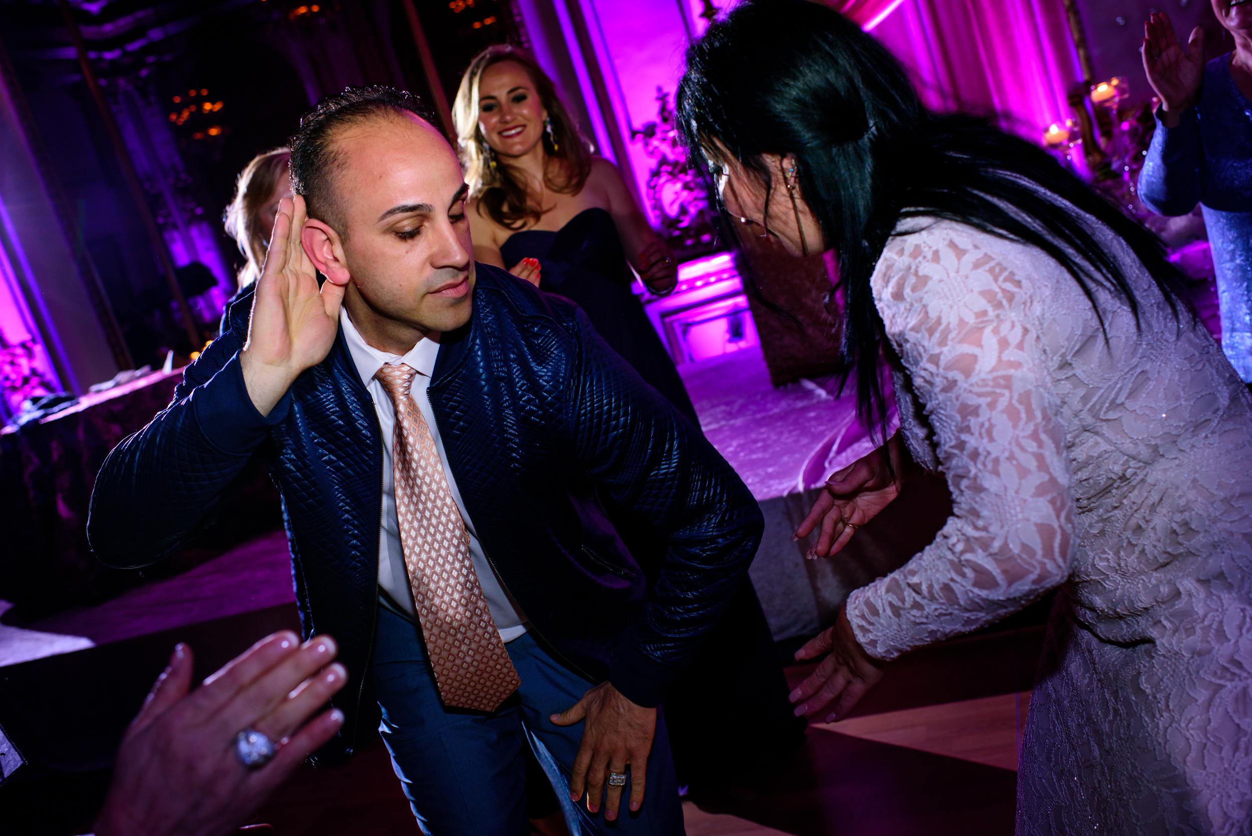 Fairmont San Francisco Ballroom wedding