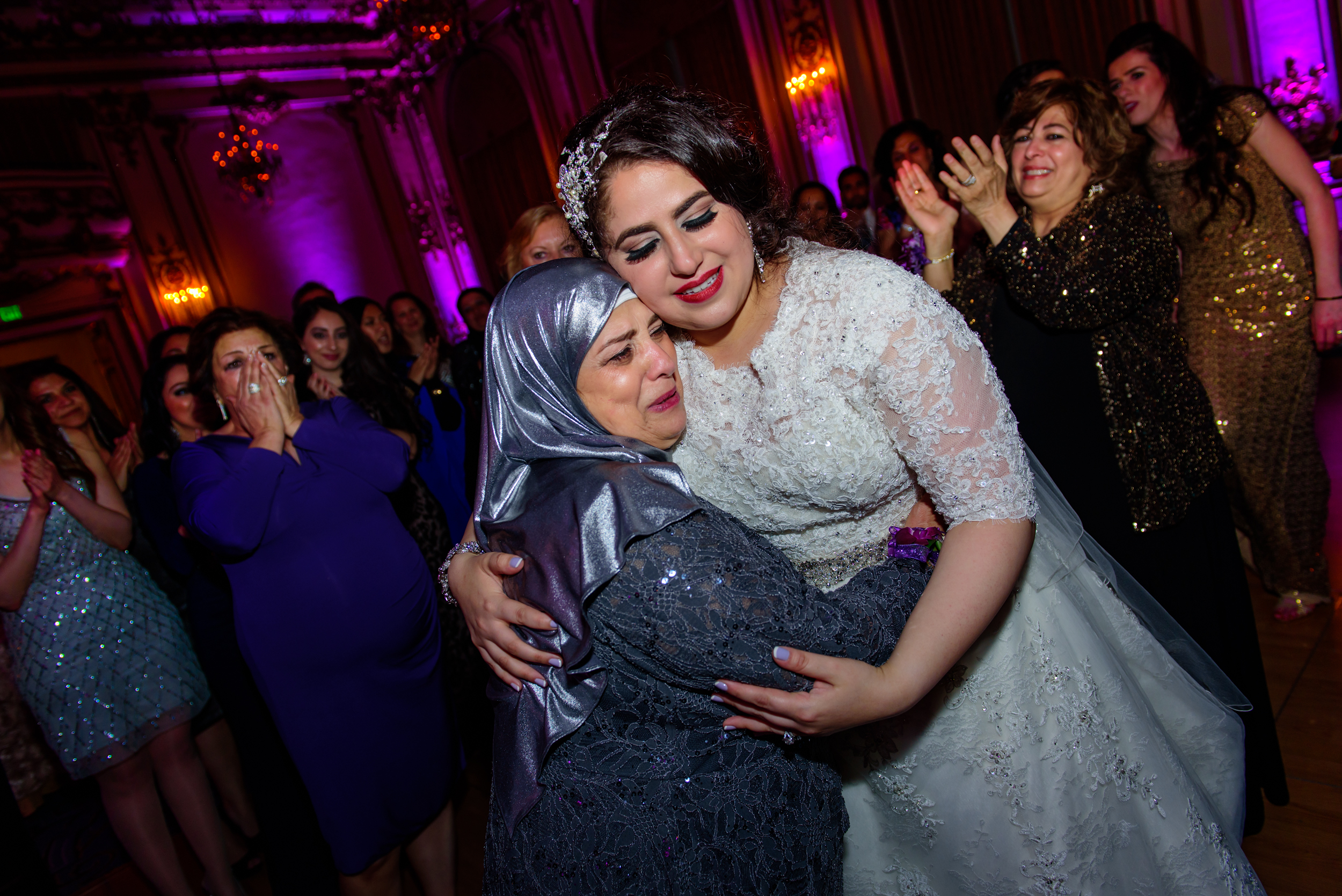 Fairmont San Francisco arabic wedding