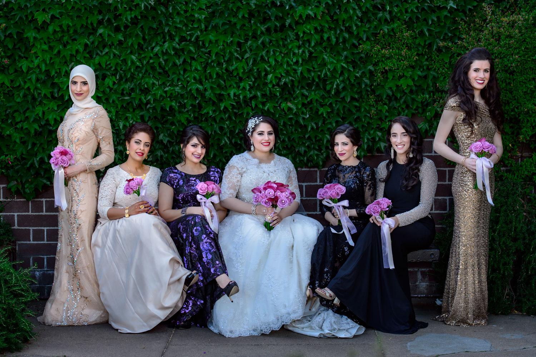 bridal party Fairmont San Francisco