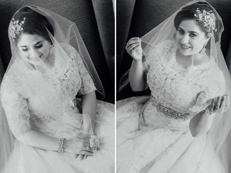 beautiful arabis bride Fairmont San Francisco