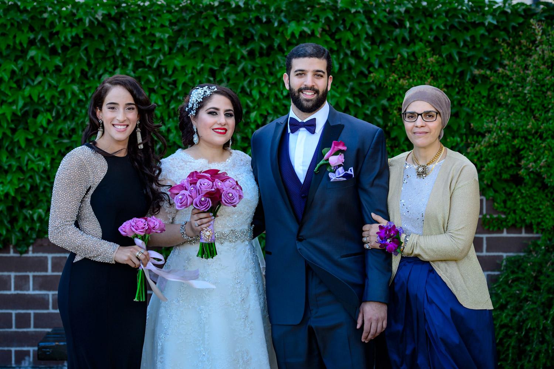 arabic muslim wedding Fairmont San Francisco