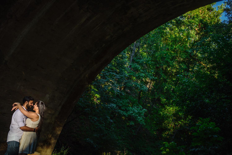 Saratoga Springs engagement shoot