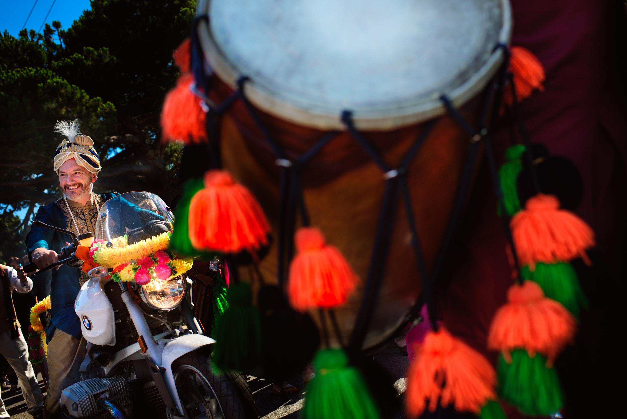 Indian punjabi wedding baraat