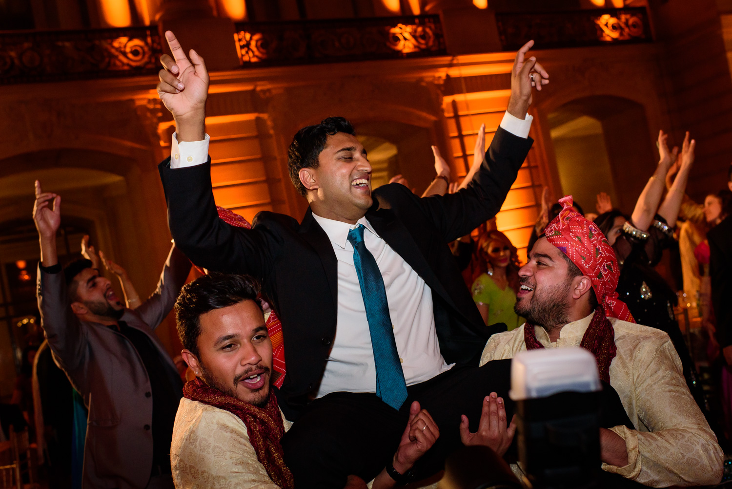 Indian wedding at San Francisco City Hall