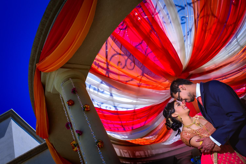 Indian Hindu wedding Marriott San Mateo