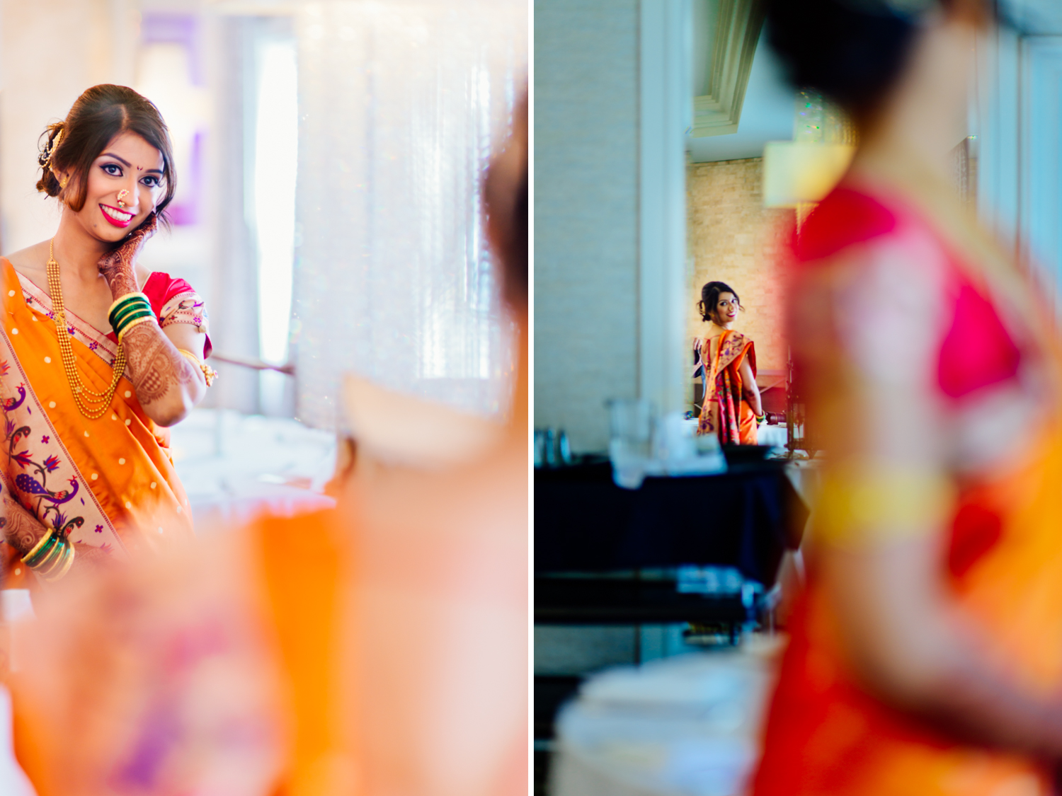 Indian Marathi wedding at Mariott San Mateo