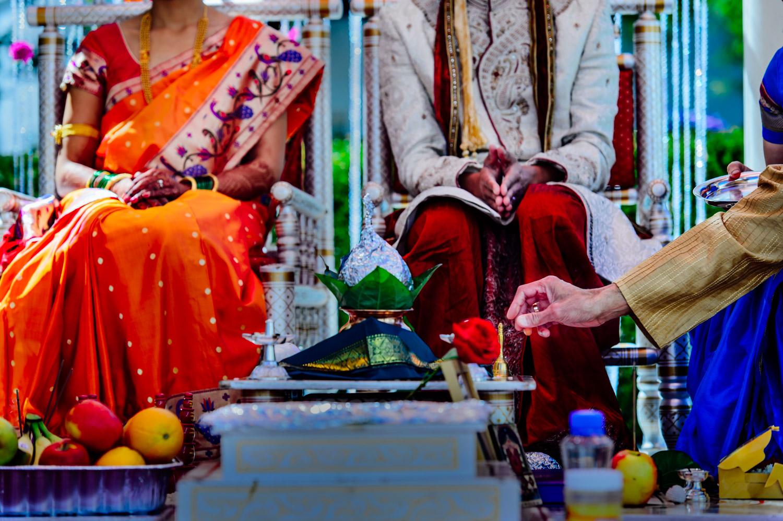Indian hindu wedding at Mariott San Mateo