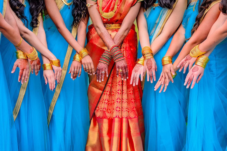bridal henna by Mehndi by kamala