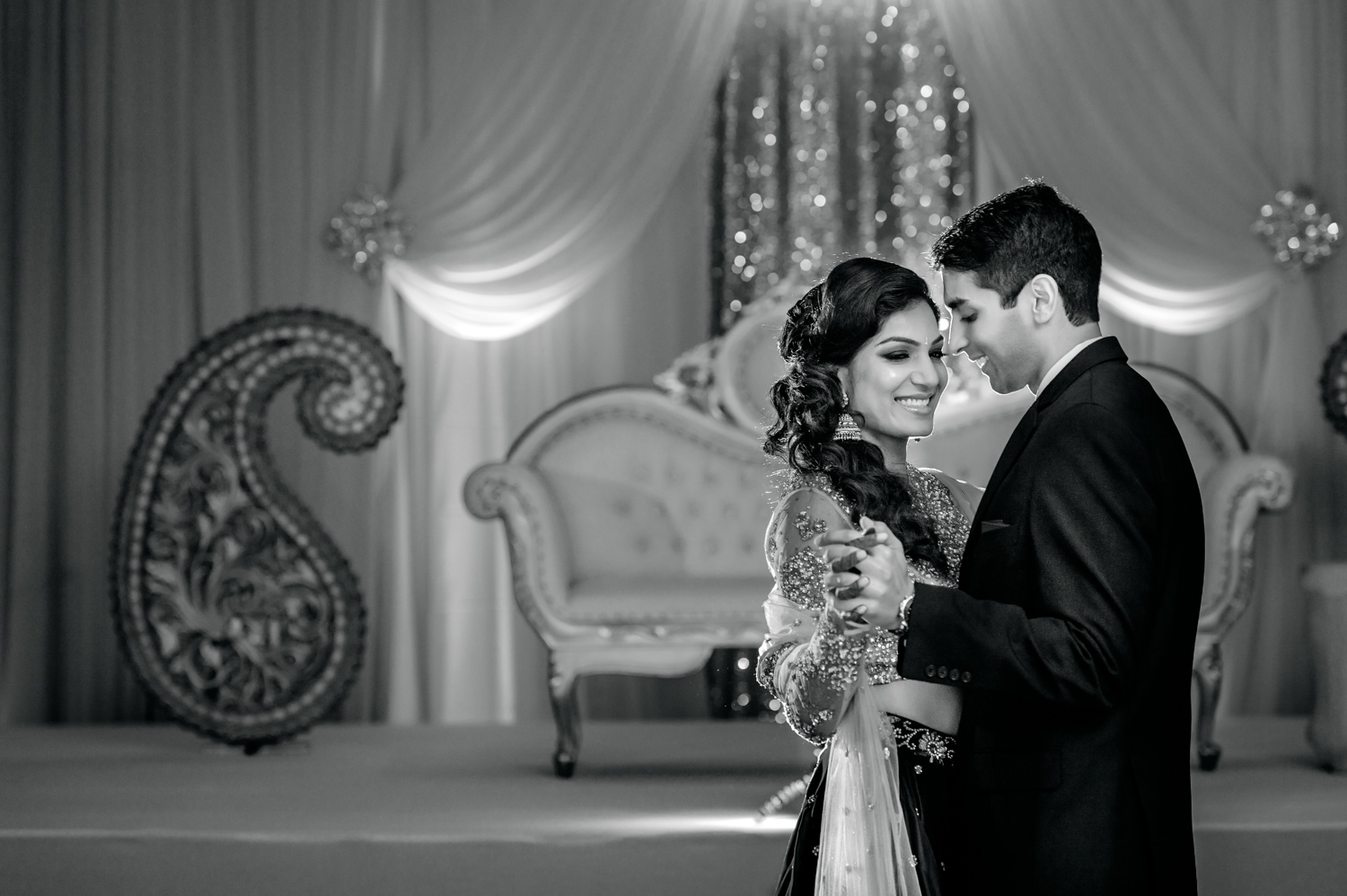 First dance at Indian wedding