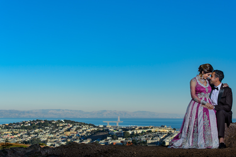 San Francisco Indian engagement session