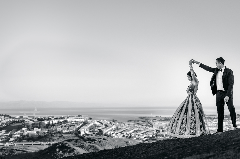San Francisco Indian engagement shoot