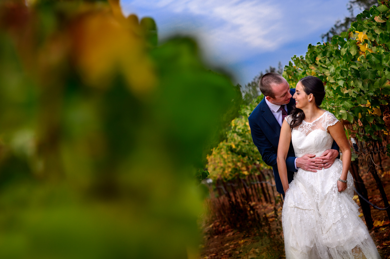 Santa Rosa winery wedding