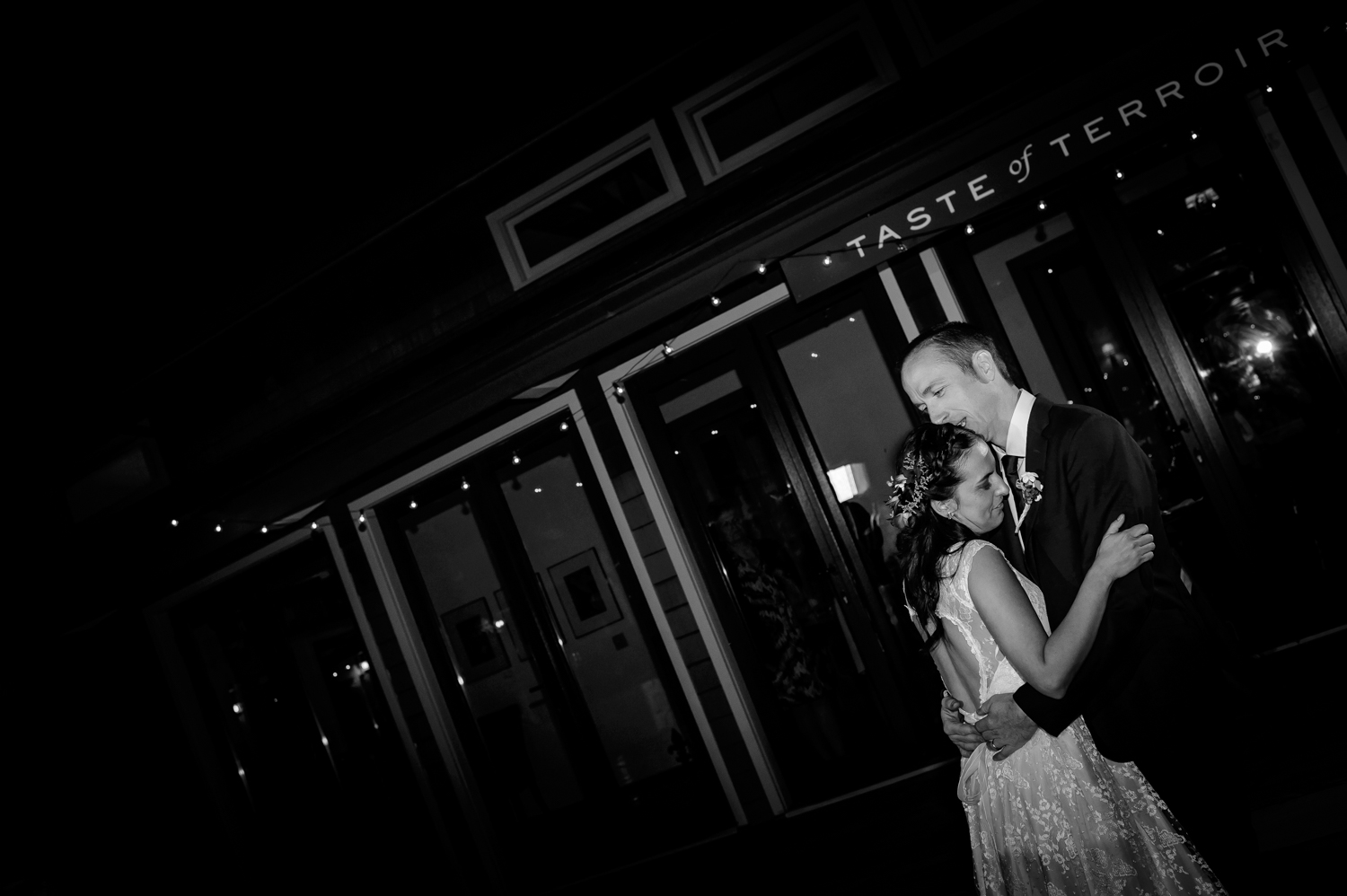 First dance California winery wedding