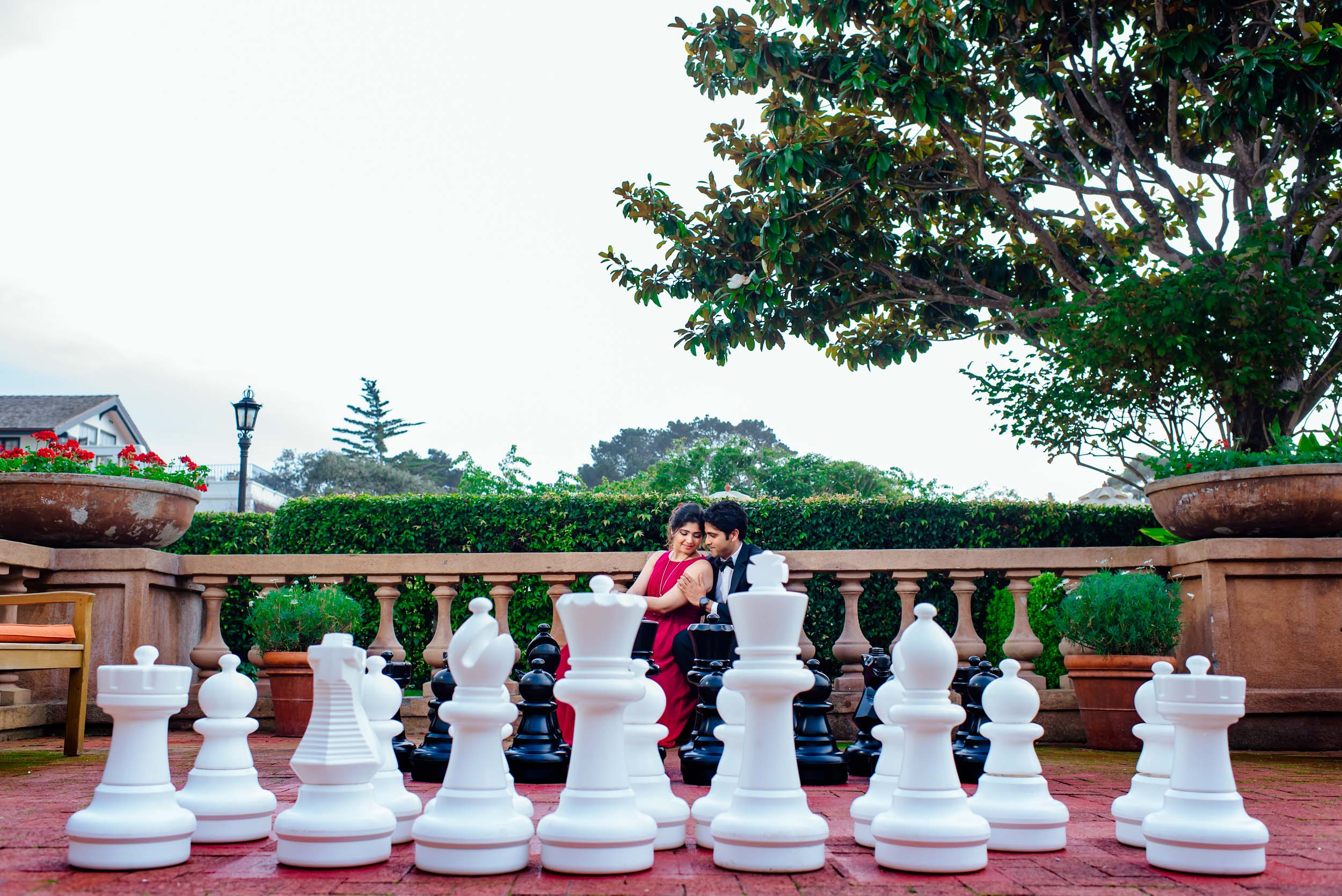 Engagement shoot in Carmel