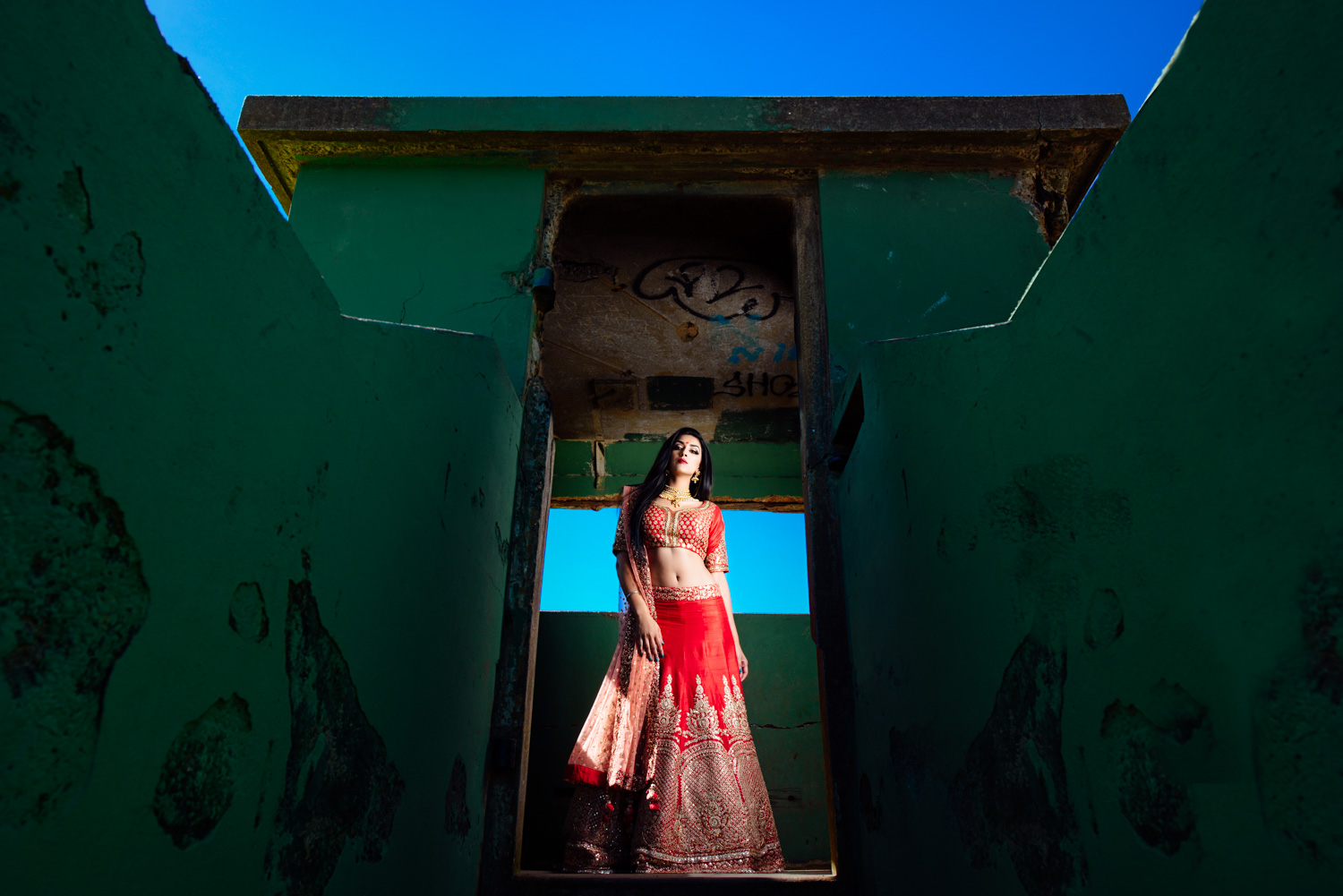 Styled Indian Bridal shoot San Francisco
