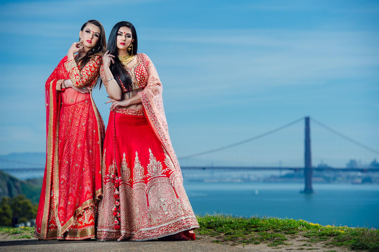 Styled Indian Bridal shoot San Francisco