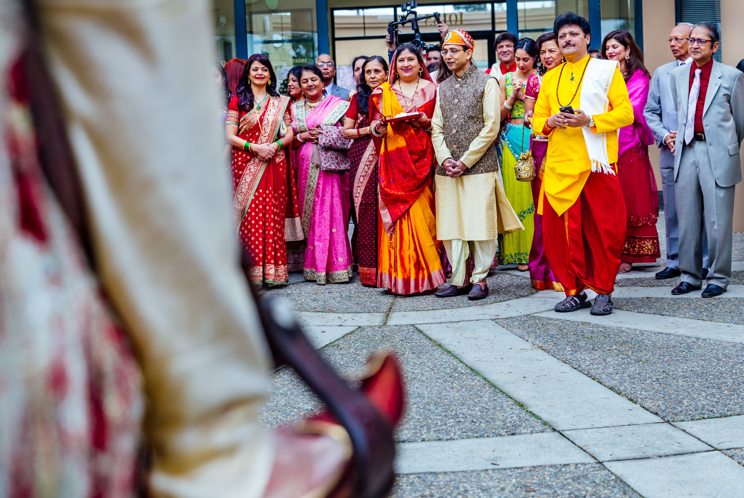 Indian Hindu Wedding Quinlan Community Center Cupertino