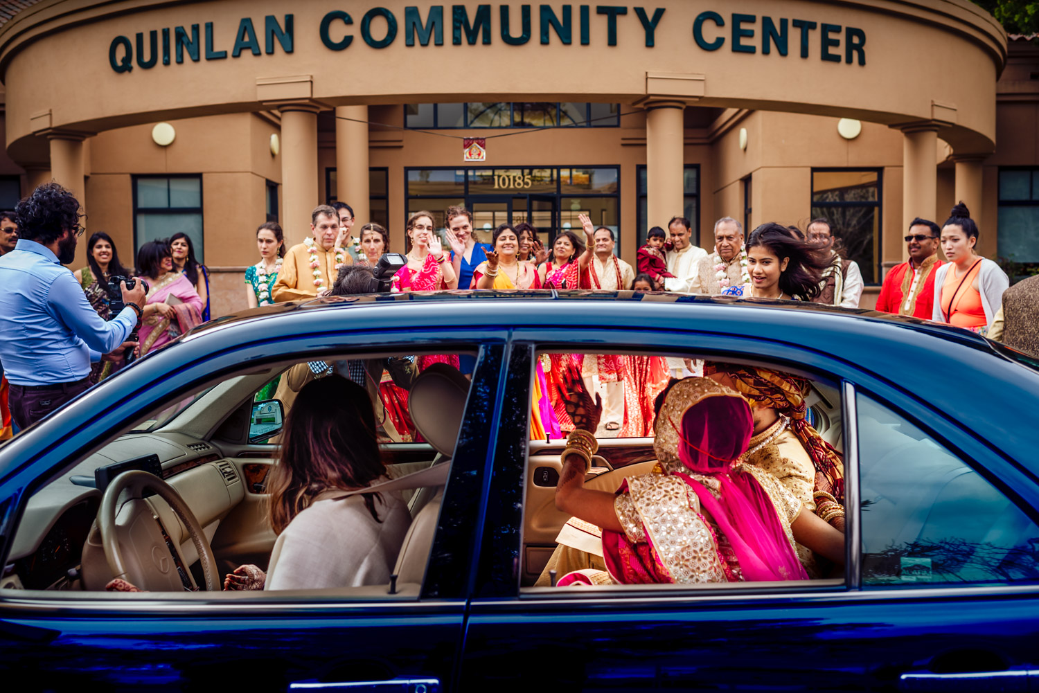 Indian fusion wedding Quinlan Community Center