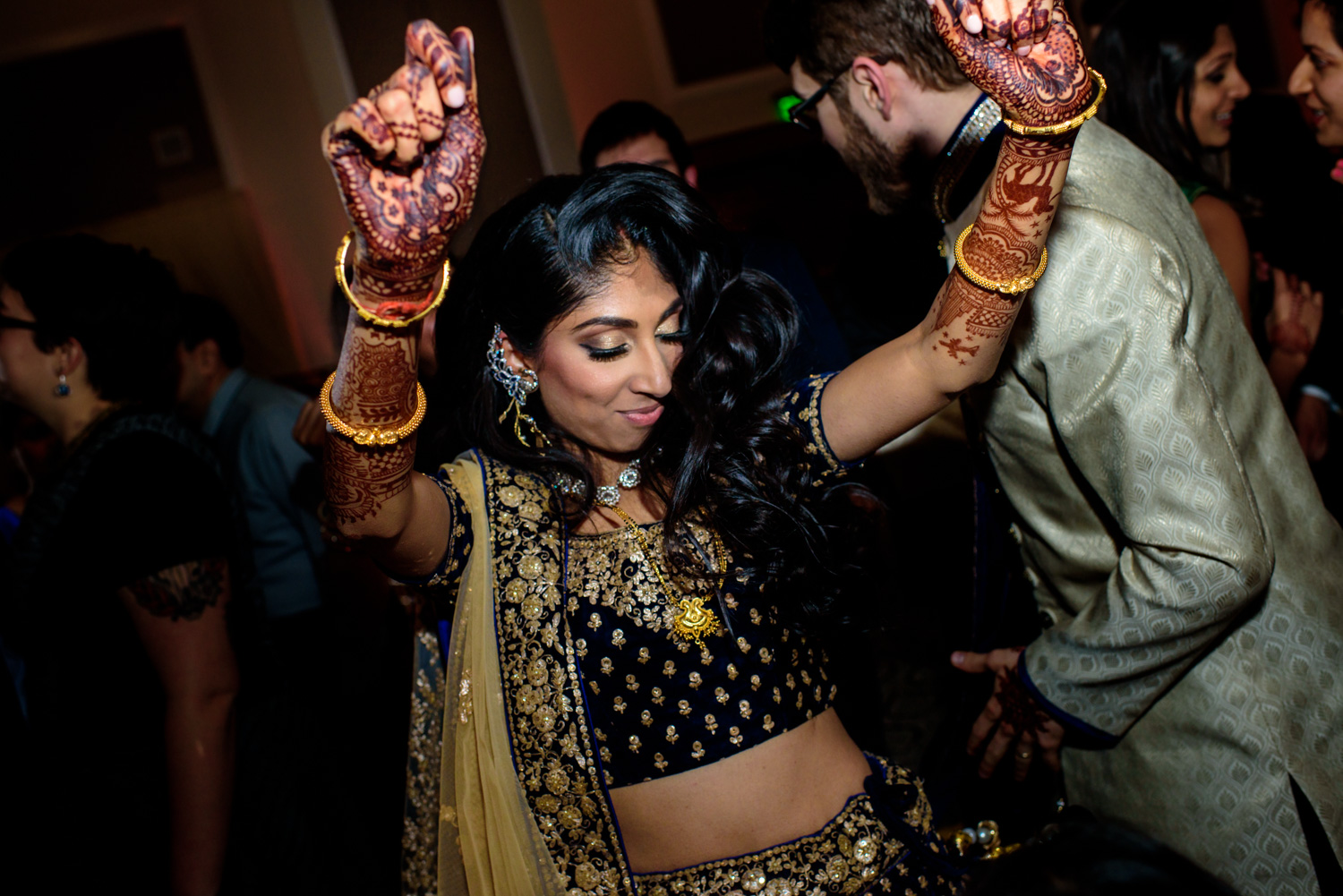 Indian fusion wedding Dolce Hayes Mansion