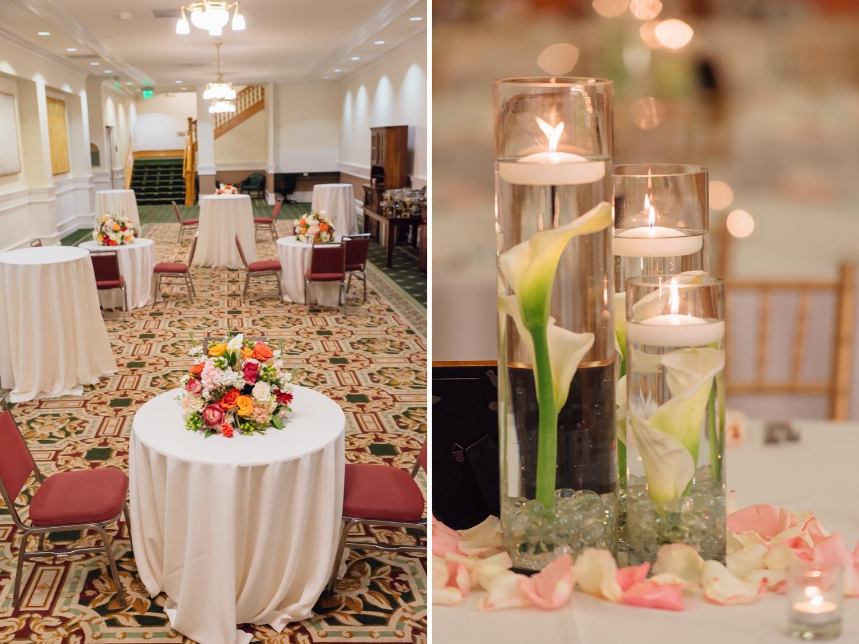 reception decor by Anais Events