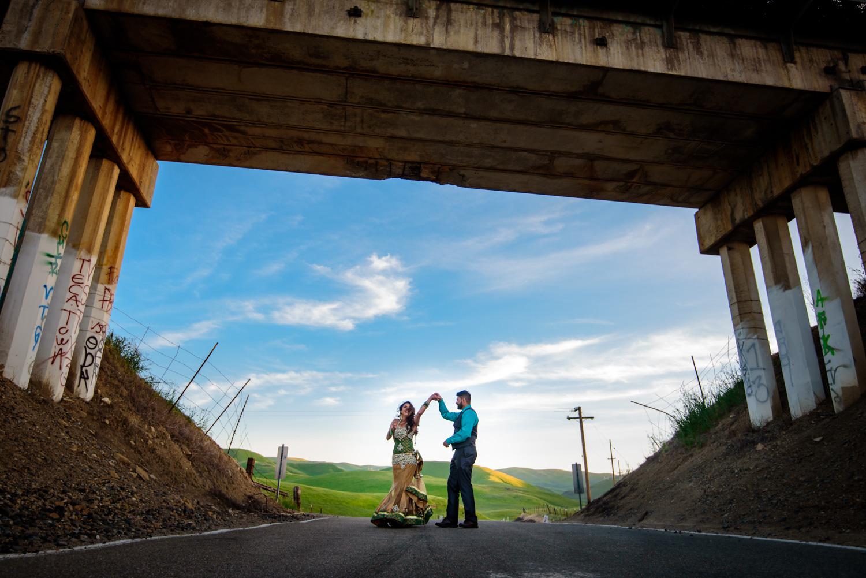 San Francisco Bayarea Indian Engagement shoot