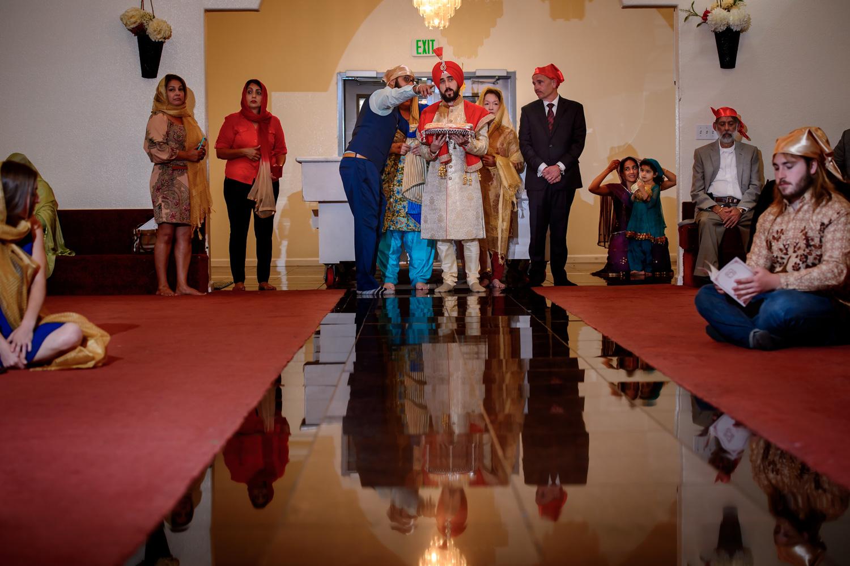 Indian Sikh Wedding Stockto