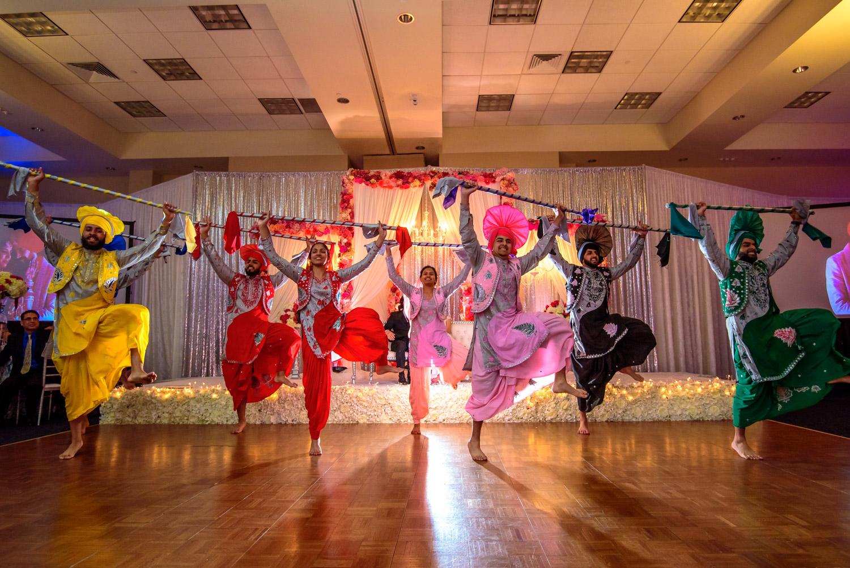 Bhangra dancers Stockton