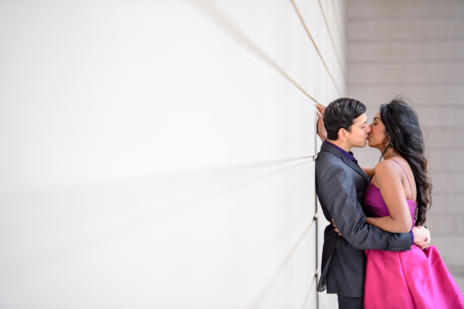 Indian Engagement session Legion of Honor San Francisco