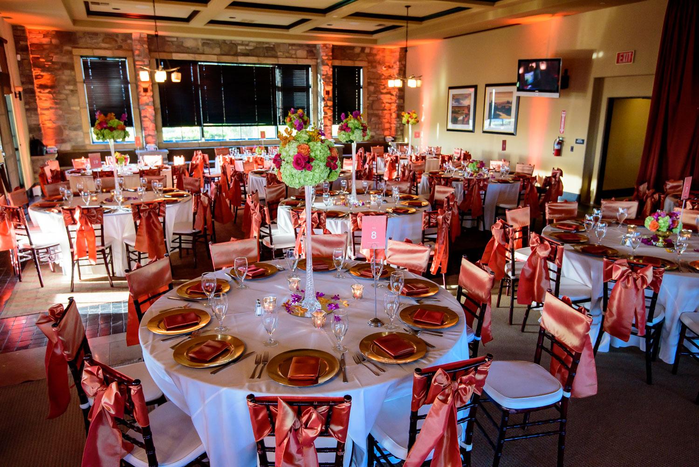 Indian wedding reception The Ranch Golf Club San Jose