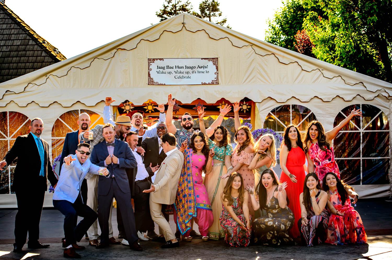 Lodi Indian fusion wedding