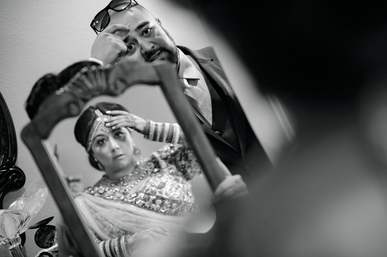 Indian Bride getting ready Lodi