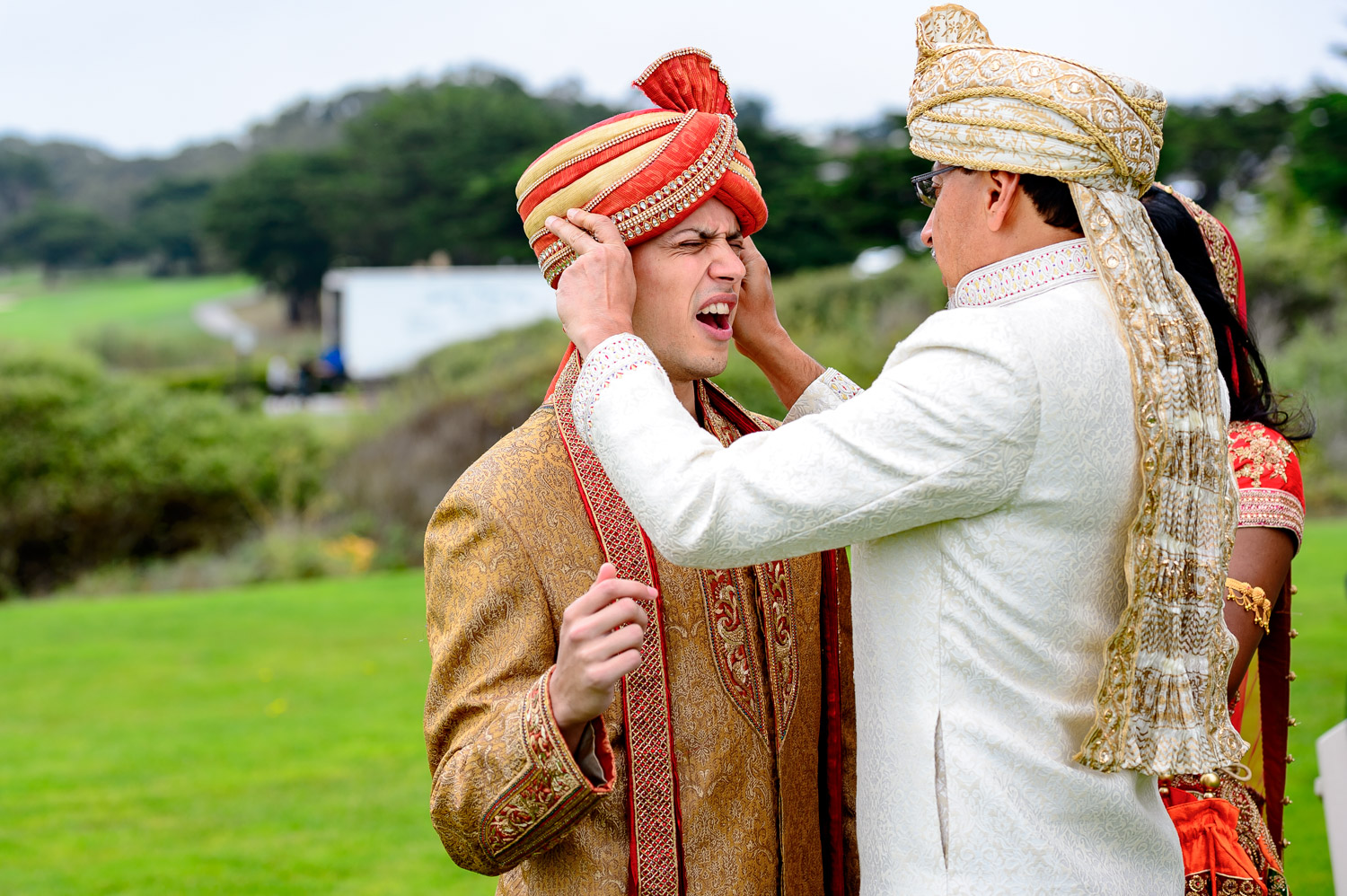 Real moments Indian wedding Bay area